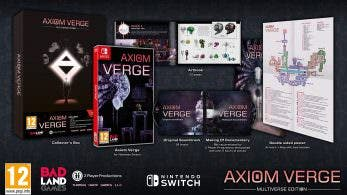 Axiom Verge: Multiverse Edition ya está disponible en tiendas