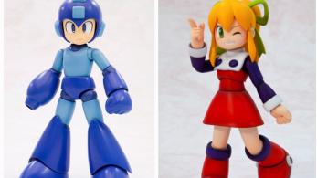 Kotobukiya lanzará nuevas figuras de Mega Man y Roll en Japón el próximo mes