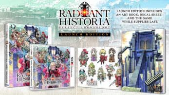 [Act.] Unboxing oficial de la Radiant Historia: Perfect Chronology Launch Edition y calendario de DLCs