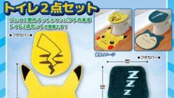 Estos sets de Pikachu o Snorlax son ideales para el baño de todo fan de Pokémon
