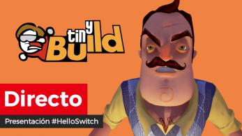 Sigue aquí en directo la presentación #HelloSwitch de tinyBuild, donde se esperan 6 anuncios para la consola