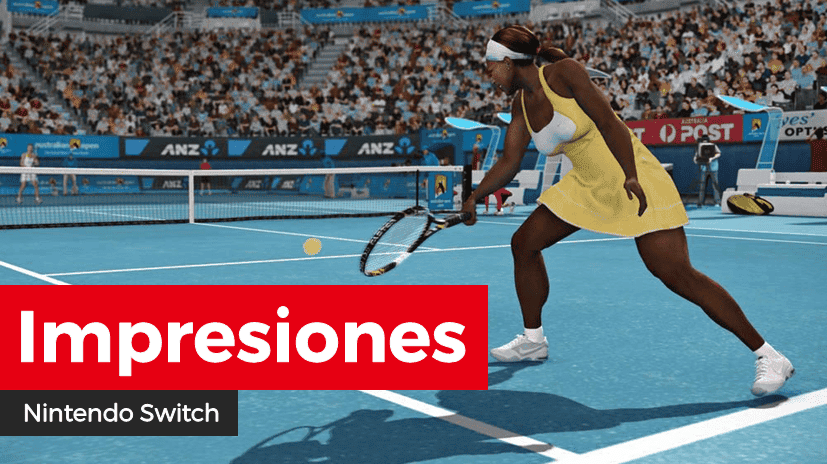 [Impresiones] Tennis World Tour