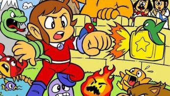 Alex Kidd in Miracle World fue ideado originalmente como un juego de Dragon Ball