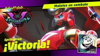 Springtron gana la última Festilucha de ARMS frente a Kid Cobra