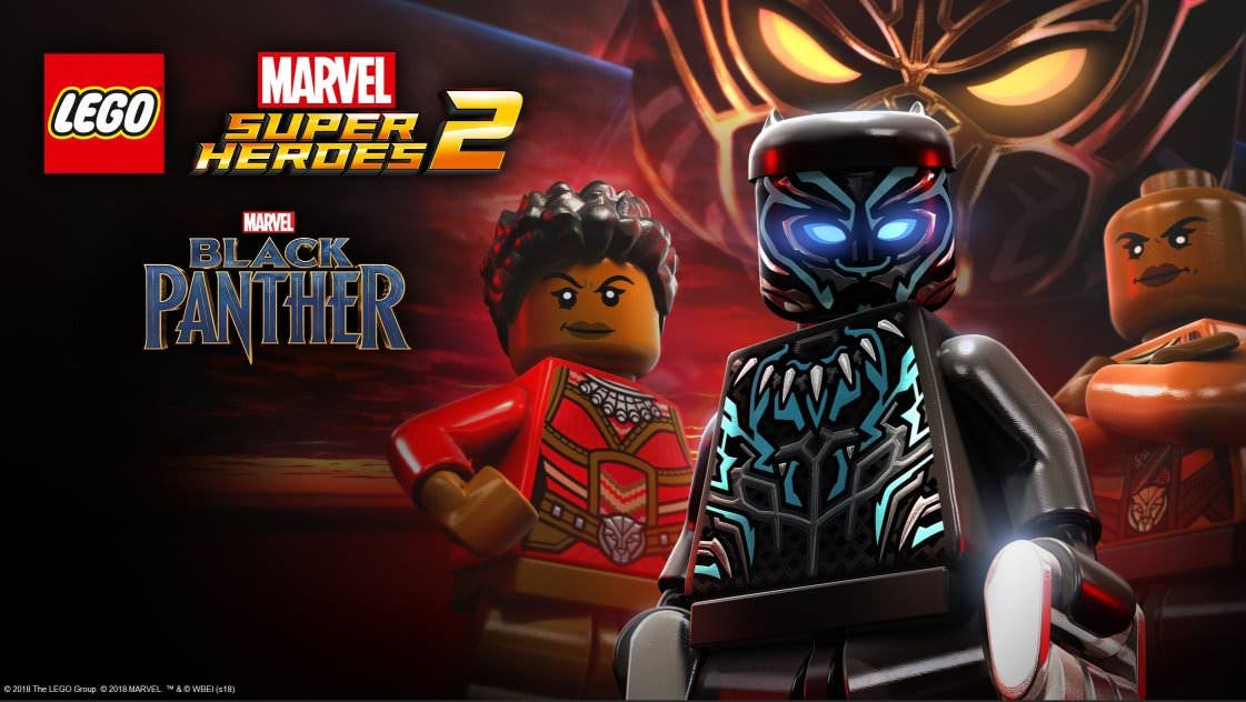 [Act.] LEGO Marvel Super Heroes 2 recibe el DLC de Black Panther