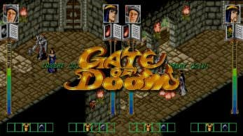 Gate of Doom de Data East llegará la próxima semana a la eShop de Switch