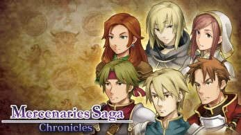 Mercenaries Saga Chronicles será lanzado en formato físico en Nintendo Switch