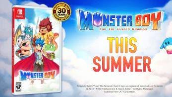 [Act.] Monster Boy and The Cursed Kingdom recibirá una versión física para Switch en Norteamérica