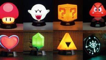 Pronto llegarán estas geniales mini-lámparas de Nintendo
