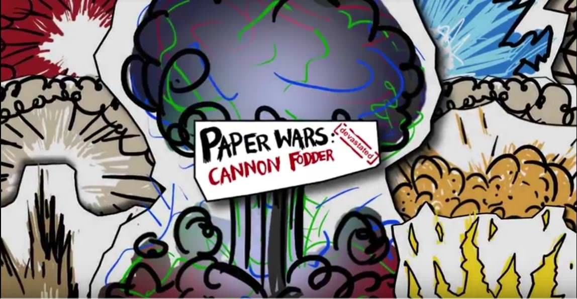 [Act.] Paper Wars: Cannon Fodder Devastated llegará a Switch el 1 de marzo