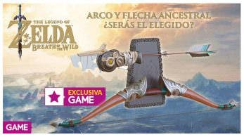 Ya puedes reservar este arco con flecha de Zelda: Breath of the Wild en GAME