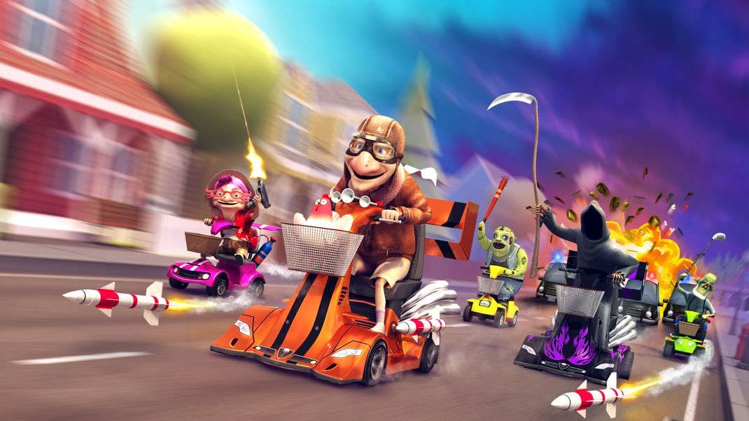 [Act.] Coffin Dodgers llegará a Nintendo Switch