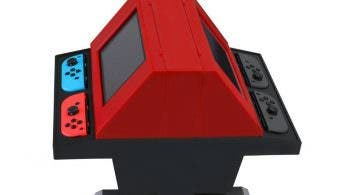 Convierte tu Nintendo Switch en una máquina arcade con este soporte dual