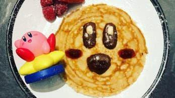 Nintendo UK celebra el Pancake Day con este pancake dedicado a Kirby