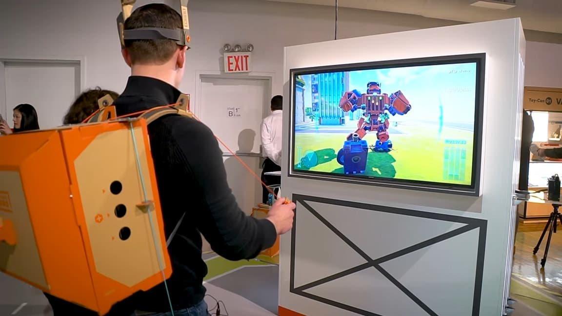 [Act.] Este vídeo nos ofrece otro vistazo a Nintendo Labo, incluyendo el kit de robot