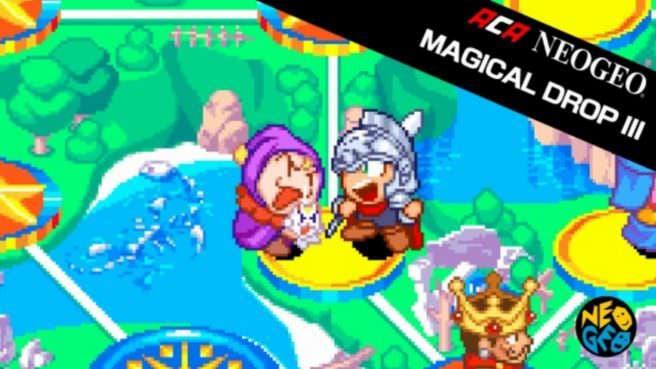 [Act.] Hamster lanzará Magical Drop III y Heroic Episode en Nintendo Switch la próxima semana