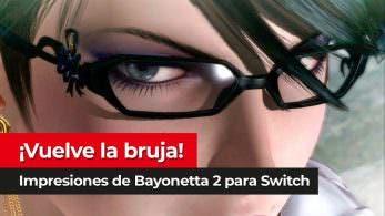 [Vídeo] Impresiones tras jugar las primeras horas de Bayonetta 2 en Nintendo Switch