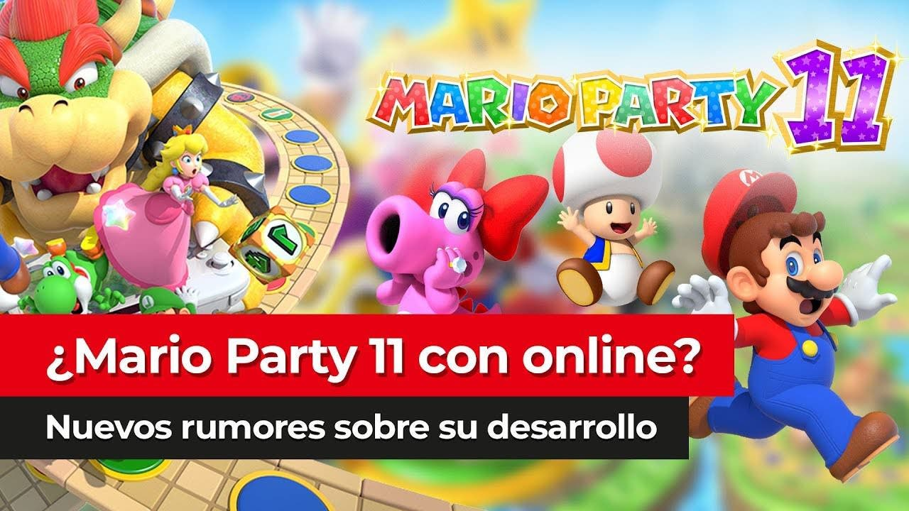 [Vídeo] Recopilatorio de información sobre el rumor de Mario Party 11