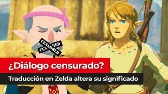 [Vídeo] ¿Diálogo censurado en algunas traducciones de Zelda: Breath of the Wild?