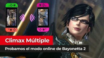 [Vídeo] Probamos el modo online Climax Múltiple de Bayonetta 2 para Nintendo Switch