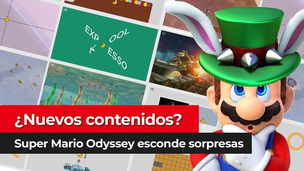 [Vídeo] Posibles pistas sobre el próximo contenido de Super Mario Odyssey