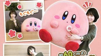 Este adorable peluche de 60 cm de Kirby ya está disponible para reservar en Japón