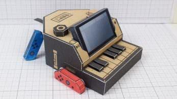 Esta miniatura del Piano Toy-Con de Nintendo Labo creada por un fan no tiene desperdicio