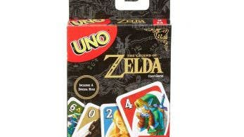 Anunciado un nuevo set de cartas Uno de The Legend of Zelda