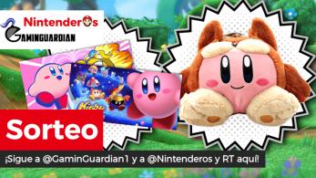 [Act.] ¡Sorteamos este peluche y estos dos pósters de Kirby junto a GaminGuardian!