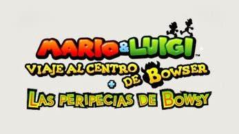 Se revela el tamaño de descarga de Mario & Luigi: Viaje al centro de Bowser + Las peripecias de Bowsy