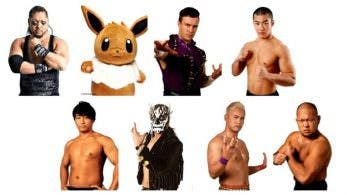 Eevee se convierte en luchador de New Japan Pro-Wrestling por el April Fools Day