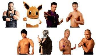 Eevee se convierte en luchador de New Japan Pro-Wrestling por el April Fools Day