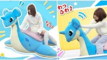 No te pierdas este peluche gigante del Pokémon Lapras valorado en 750$