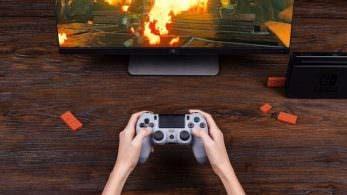 Este nuevo adaptador de 8Bitdo permite usar un mando de PS4 con Nintendo Switch