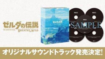 Se anuncian diferentes versiones de la Banda Sonora Original de Zelda: Breath of the Wild en Japón