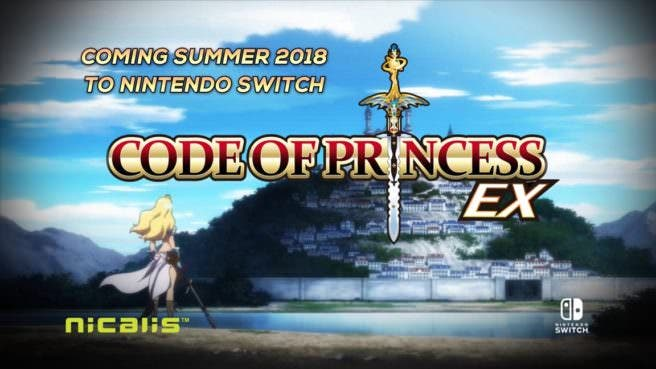 Anunciado Code of Princess EX para Switch