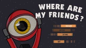 Where Are My Friends? está de camino a Nintendo Switch