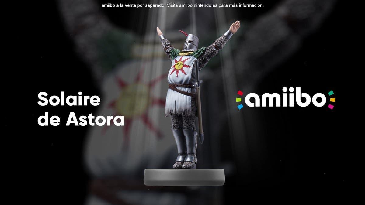 [Act.] Este amiibo acompañará el lanzamiento de Dark Souls: Remastered para Switch el 25 de mayo