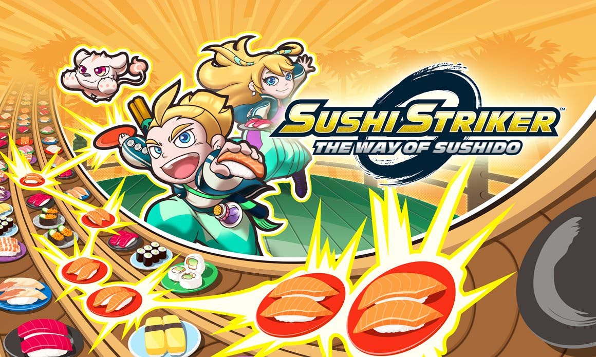 [Act.] Sushi Striker llega a Switch y 3DS el 8 de junio