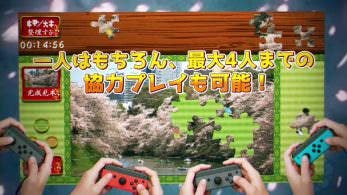 [Act.] Moving Jigsaw Puzzle: Japanese Landscape Collection llegará a Nintendo Switch
