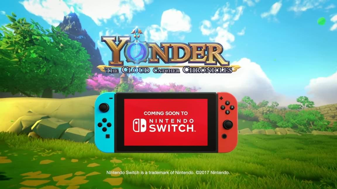 [Act.] Yonder: The Cloud Catcher Chronicles confirma su lanzamiento en Nintendo Switch para mayo