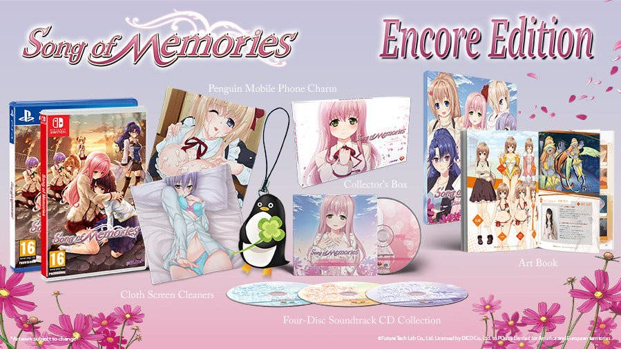 "Anunciada la ""Encore Edition"" de Song of Memories"