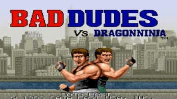 Bad Dudes se ha retrasado en Nintendo Switch