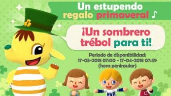 Animal Crossing: Pocket Camp celebra Saint Patrick's Day regalando este gorro a los jugadores
