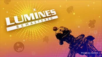 Lumines Remastered se actualiza en Nintendo Switch