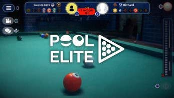 Mastiff confirma el lanzamiento de Pool Elite en Nintendo Switch