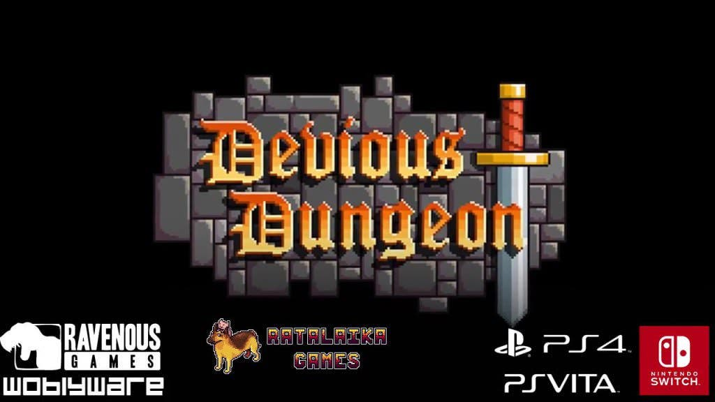 Se anuncia Devious Dungeon para Nintendo Switch