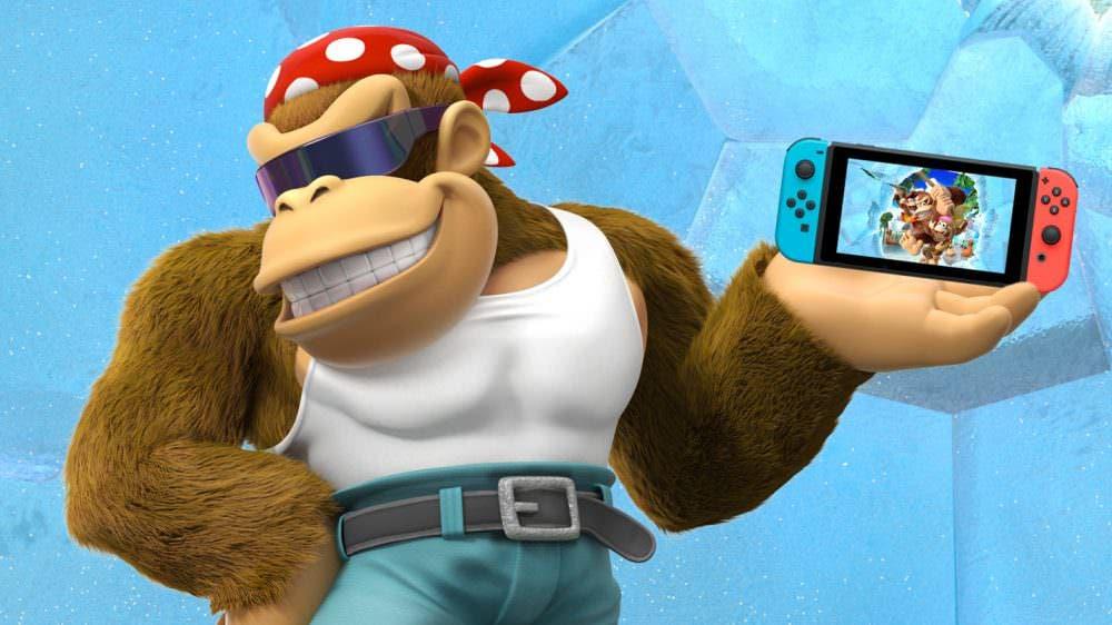 [Act.] Vídeo: Mira cómo ha cambiado la tienda de Donkey Kong Country: Tropical Freeze en Switch