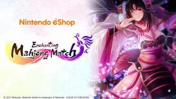 [Act.] Enchanting Mahjong Match se lanzará a nivel mundial en la eShop de Switch la próxima semana