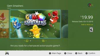 Gem Smashers llegará a Nintendo Switch el 15 de marzo en América